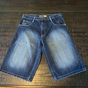 Men's Like New South Pole Jean Shorts Size 36